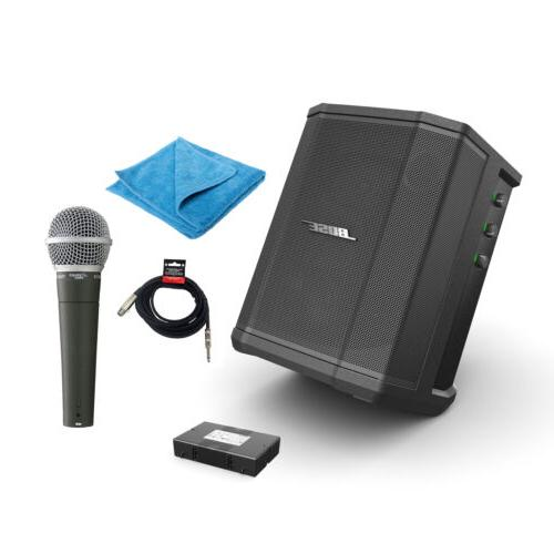 Bose S1 Pro Bluetooth Speaker System w/Battery, PDMIC58 Micr