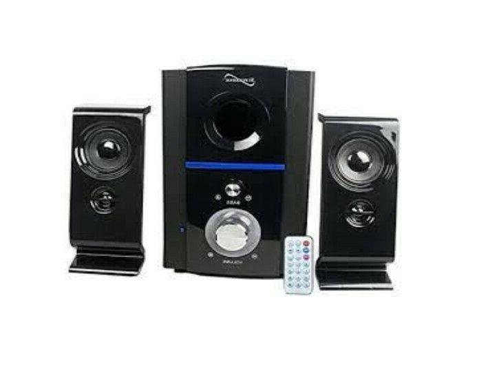 Supersonic SC1126 Clear Multimedia FM Speakers