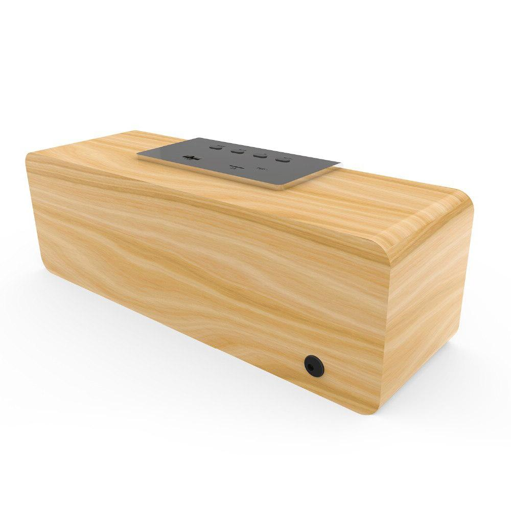 Smalody Wooden TV bass loudspeaker computer Radio