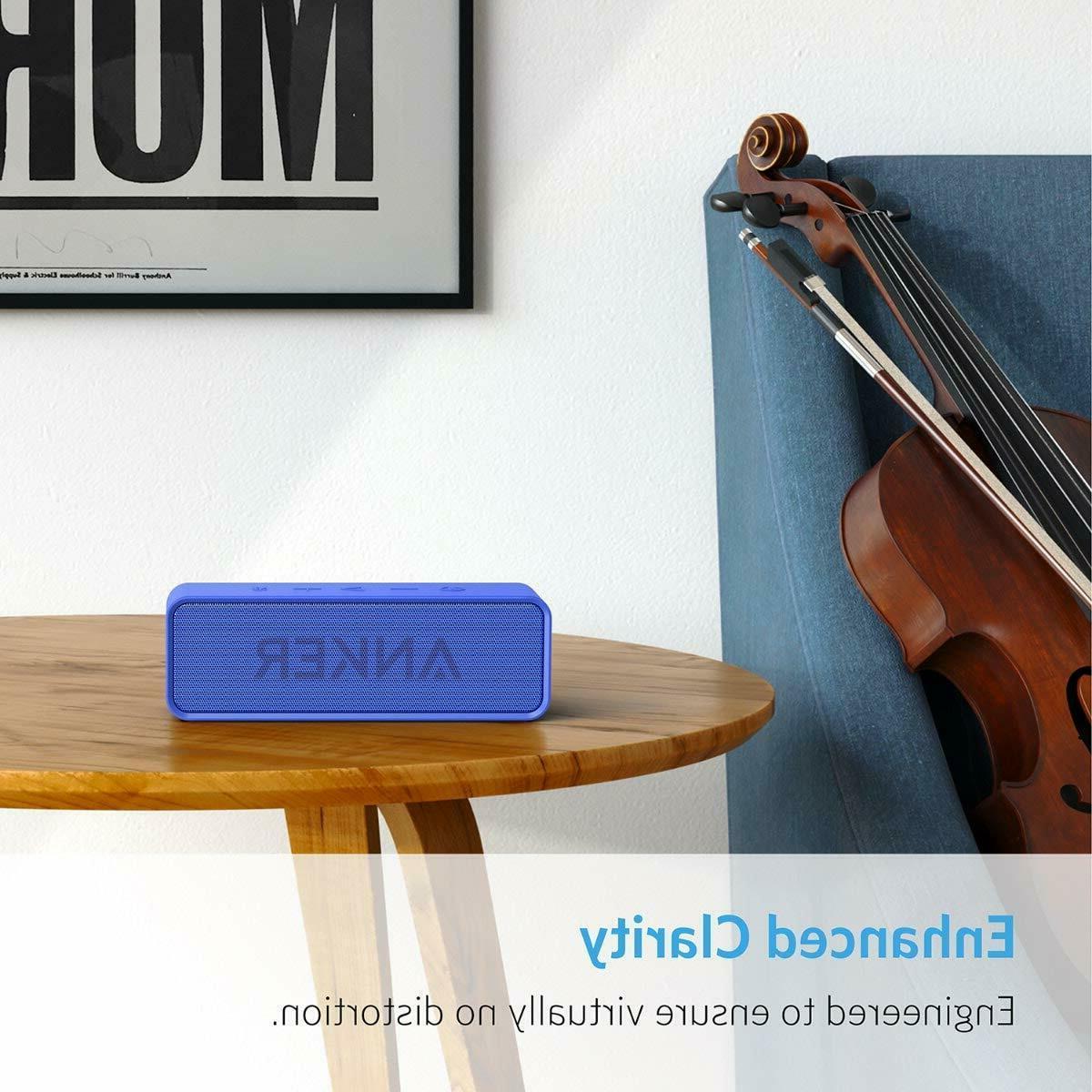 Anker Sound Speaker with 24-Hour 66-Feet Bluetooth Range,Superior