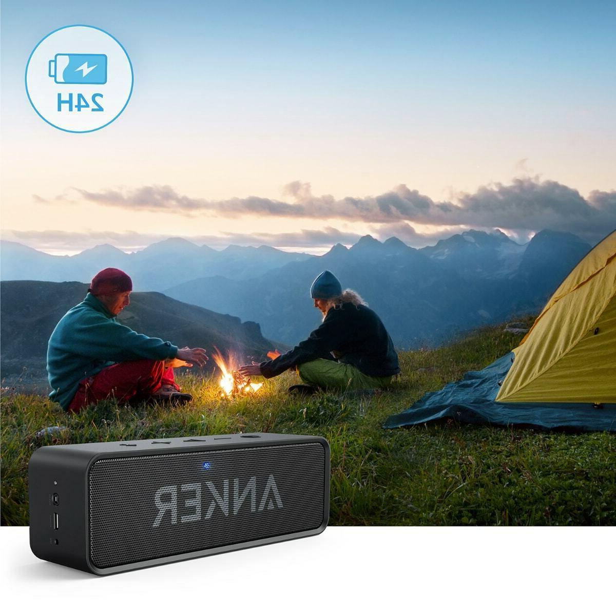 Anker Speaker Sound 24-Hour 66ft Range Mic.