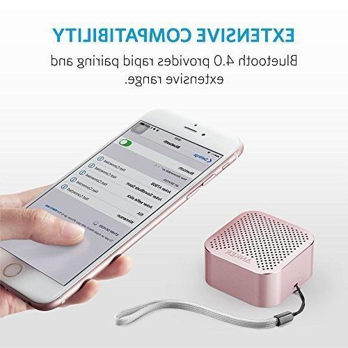 Anker Nano Speaker Big Super-Portable Built-in 7, iPad, Samsung, Nexus, HTC, -