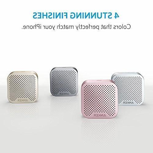 Speaker Super-Portable Wireless Speaker Built-in Mic for iPhone 7, HTC, -