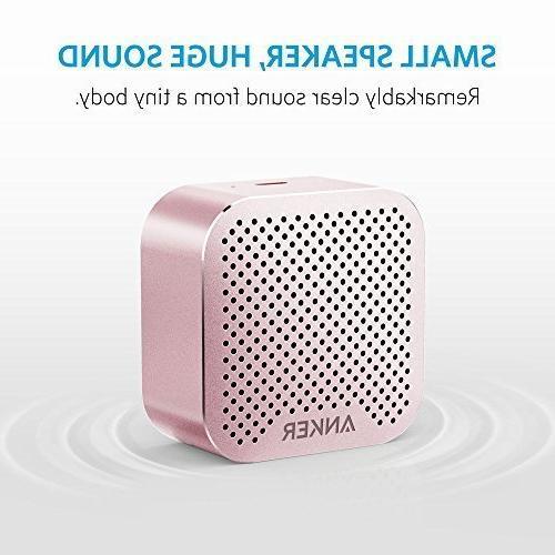 Anker SoundCore Speaker Big Sound, Super-Portable Wireless Built-in Mic 7, iPad, Samsung, HTC, Laptops More -