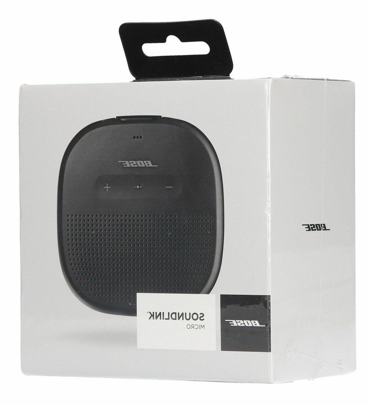 soundlink micro bluetooth speaker black brand new