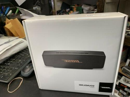 soundlink mini ii bluetooth speaker new