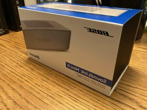 soundlink mini ii bluetooth speaker system silver