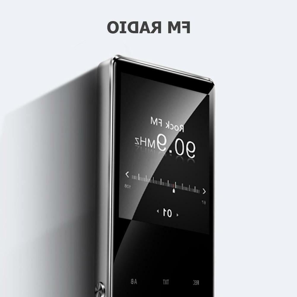 Sport MP4 Player w/Speaker Radio 2.4inch Touch Screen 8GB
