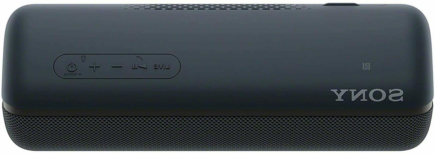 Sony SRSXB22/B Portable Speaker Black -