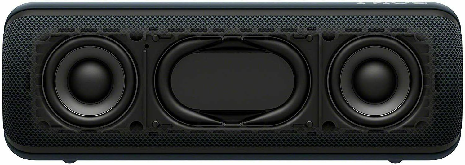 Sony Bass Portable Black Open Box