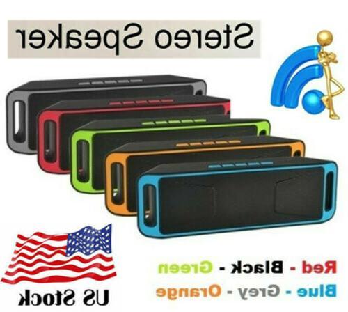 Bluetooth LOUD Speaker Wireless Waterproof Outdoor Stereo Ba