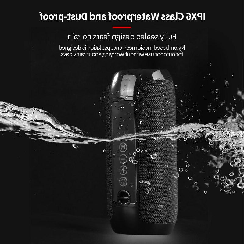TG117 Outdoor Waterproof Portable Column Loudspeaker Card FM Input