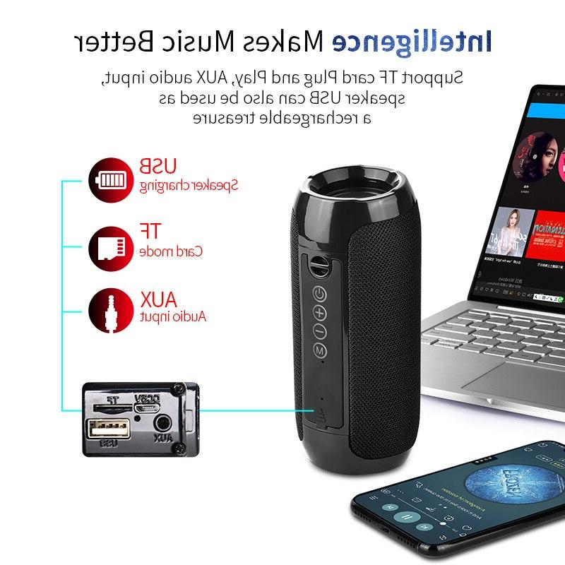 TG117 <font><b>Bluetooth</b></font> Waterproof Loudspeaker Card Aux Input
