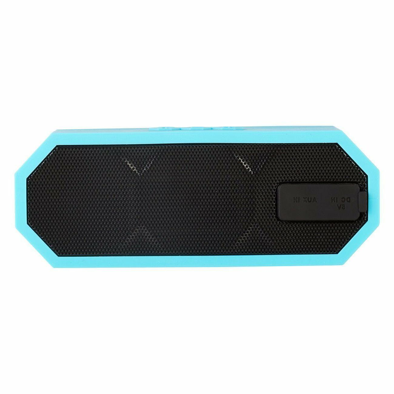 Altec Lansing H20 Speaker Blue iMW457 *NEW*