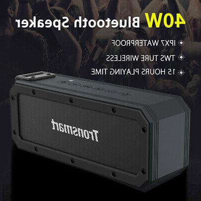 Tronsmart 40W 6600mAh TWS Wireless bluetooth Stereo Speaker