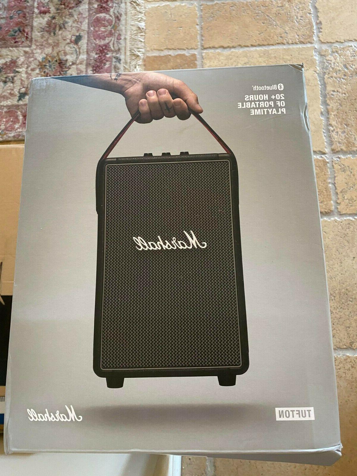 tufton portable bluetooth speaker black