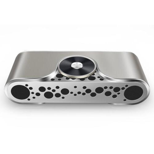 NEW Bluedio Turbine Bluetooth 4.2 Speaker/Soundbar, Micro-SD Slot