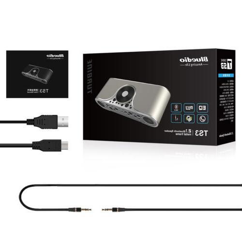 NEW Bluedio Turbine Bluetooth 4.2 Portable Speaker/Soundbar, Micro-SD Slot