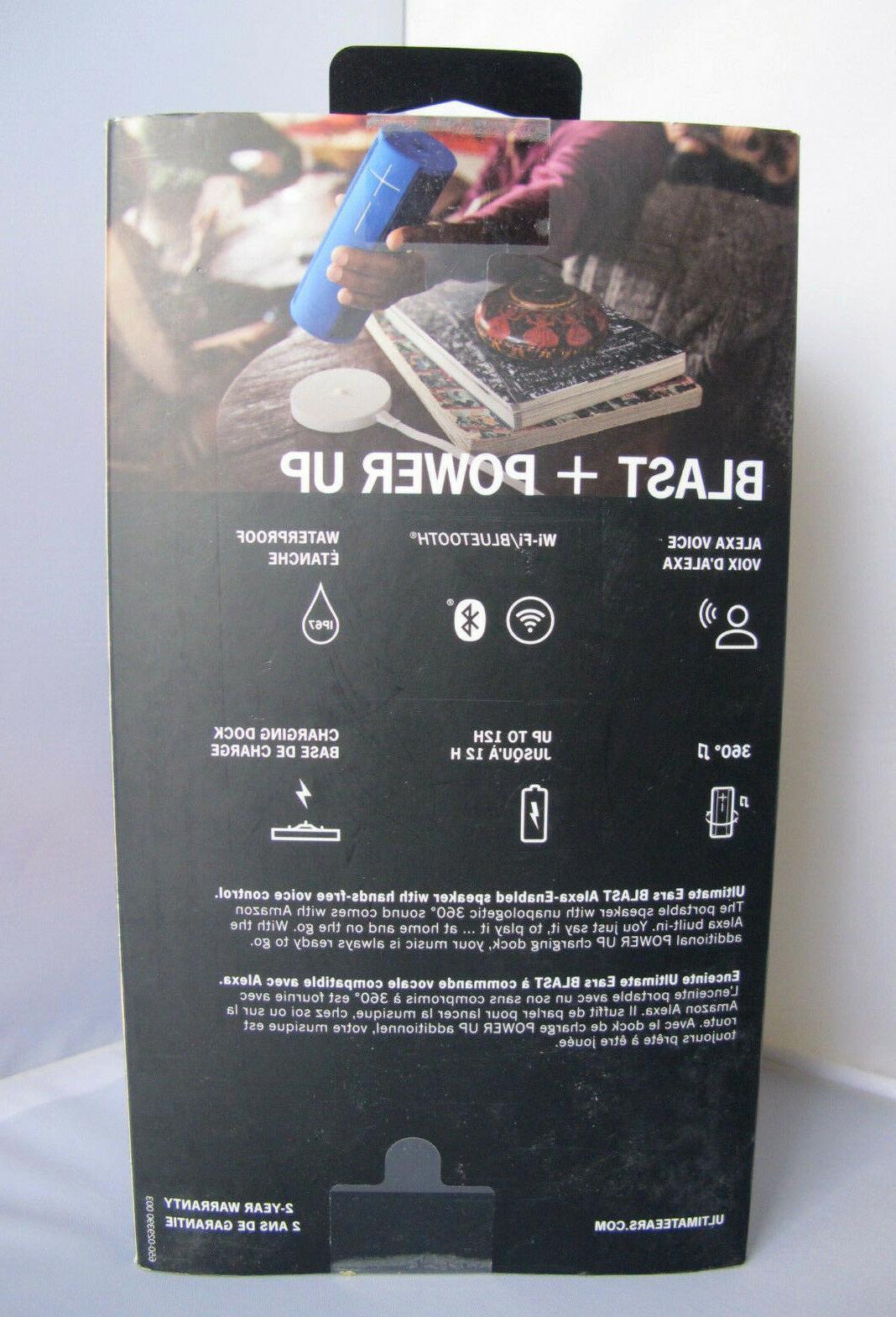 UE Portable Speaker + Charging Alexa