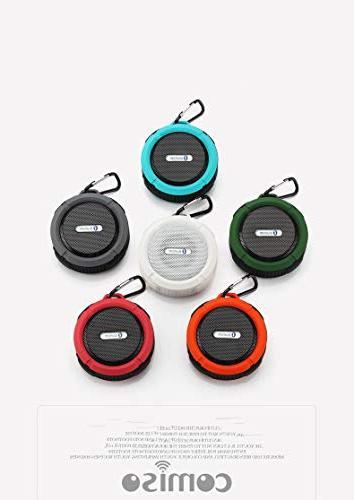 Outdoor Waterproof Speaker,Kunodi Wireless Travel Enhanced Bass, Mic Sports, Beach, .