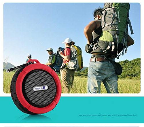 Outdoor Enhanced Bass, Mic for Sports,