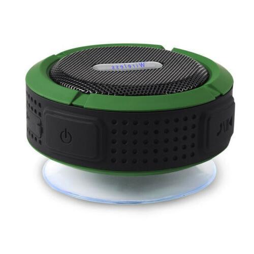 Waterproof Speaker Outdoor Bathroom Portable Loud C06