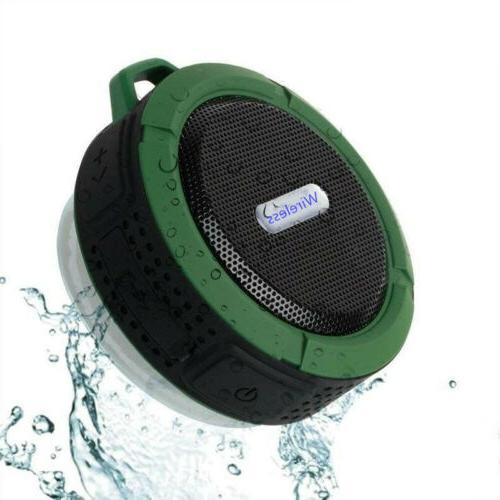 Waterproof Speaker Shower Outdoor Bathroom Portable Wireless Loud