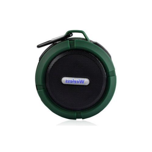 Waterproof Bluetooth Shower Outdoor Bathroom Portable Wireless Loud C06