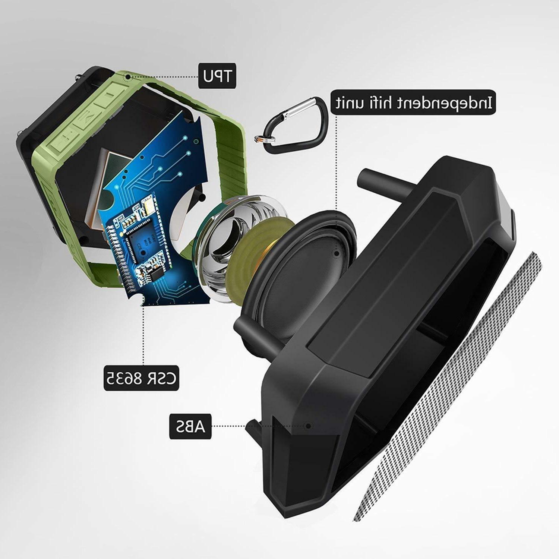 Waterproof Bluetooth Shower Outdoor Bathroom Portable Loud