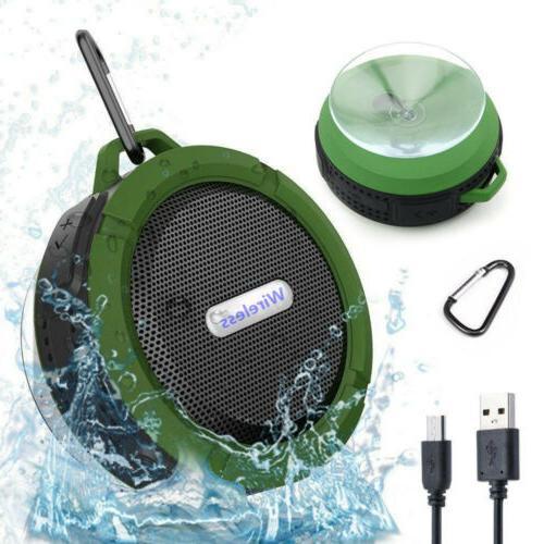 waterproof bluetooth speaker shower outdoor bathroom portabl