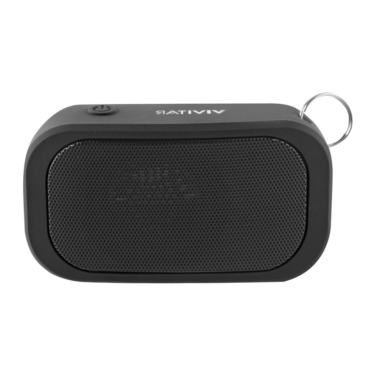 Blackweb Rugged Bluetooth Speaker Black Ipx7