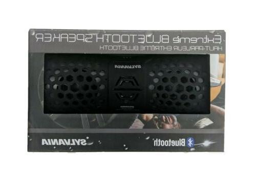 waterproof rugged portable bluetooth speaker sp353 black