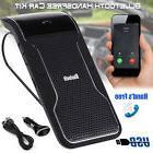 Wireless Bluetooth Car Kit Handsfree Speaker Phone Visor Cli