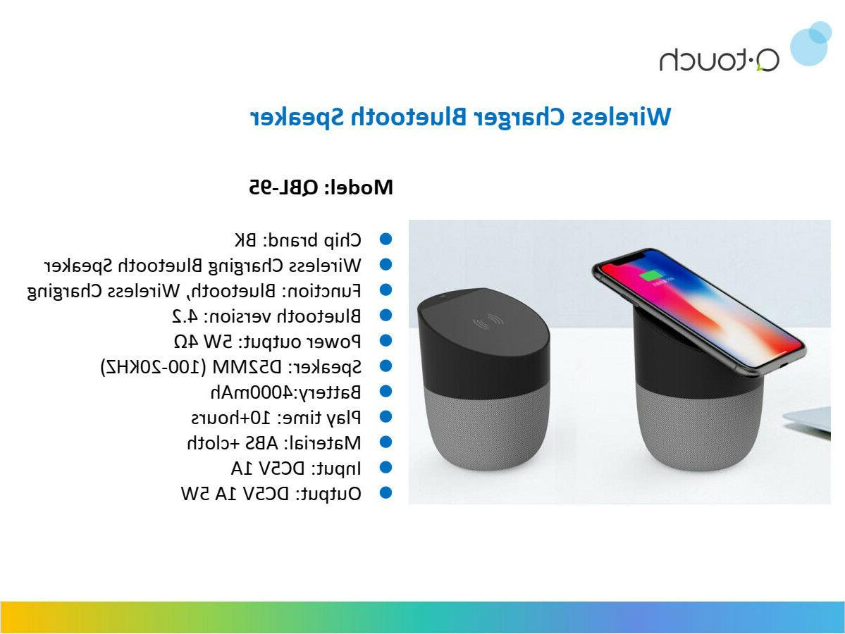 Qtouch + Qi Wireless Charging Hands-Free