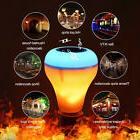 Wireless Bluetooth Speaker Bulb Light 18W LED RGB Smart Musi