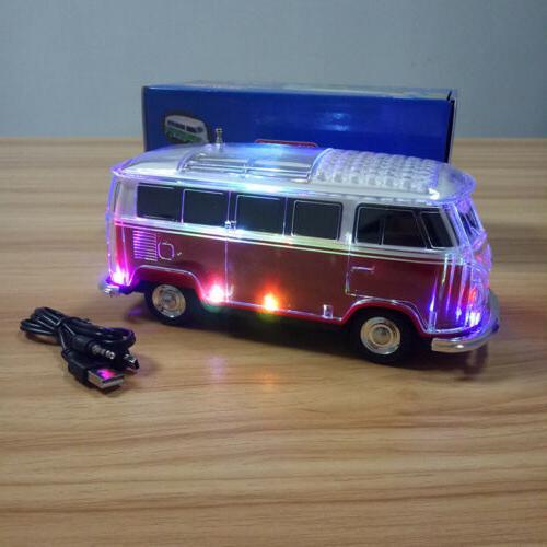 LED Light Speaker FM Docks Home