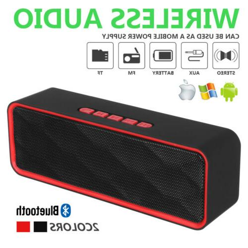 wireless bluetooth speaker portable super bass stereo