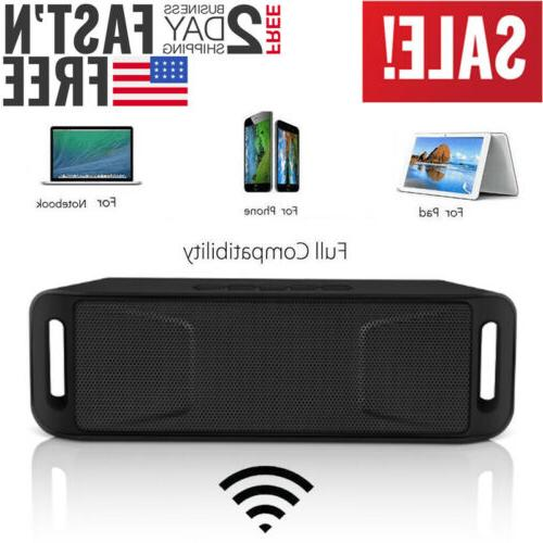 Wireless Bluetooth Speaker USB Rechargeable TF