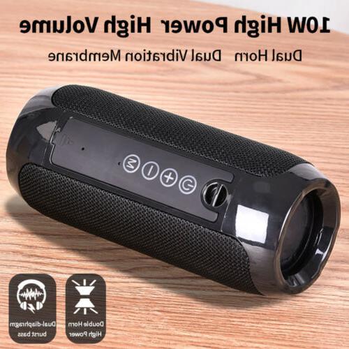 Waterproof USB/TF/FM Radio