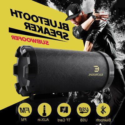 LOUD Bluetooth Waterproof Black USB/TF/FM