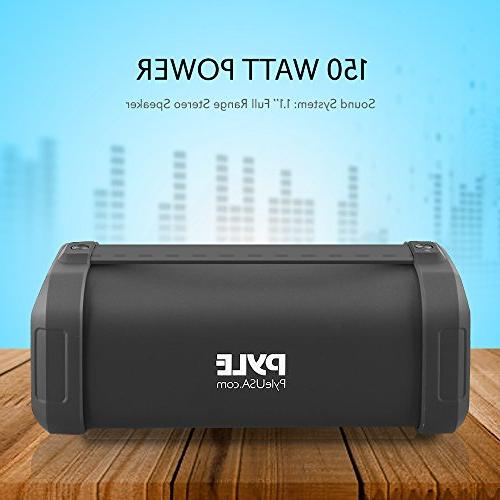 Pyle Portable with MP3/USB/Micro Radio