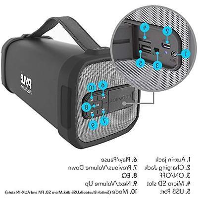 Wireless Portable MP3 MP4 Bluetooth Speaker Box