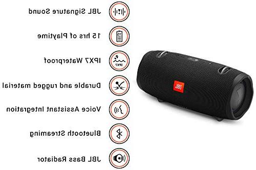 JBL Portable Bluetooth Speaker Black