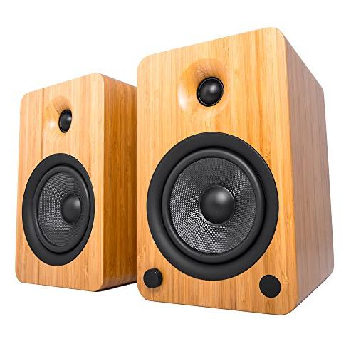 Kanto Speakers with Bluetooth Preamp,
