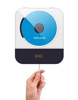ECHLIFE Latest Portable Wall mounted Bluetooth Hi-Fi DVD Pla