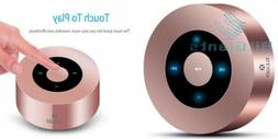 Bluetooth Speaker, XLEADER Portable Wireless Rose gold