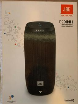 JBL Link 20 Voice-activated Portable Speaker - Black BNIB