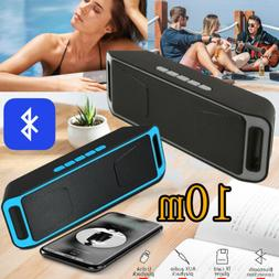loud bluetooth speaker wireless waterproof outdoor stereo