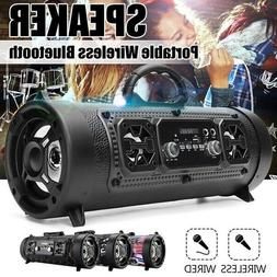 LOUD Powerful Wireless Bluetooth Speaker Heavy Bass Sound Sy