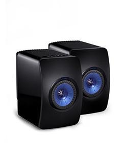 KEF LS50 Wireless Speaker - Gloss Black/Blue